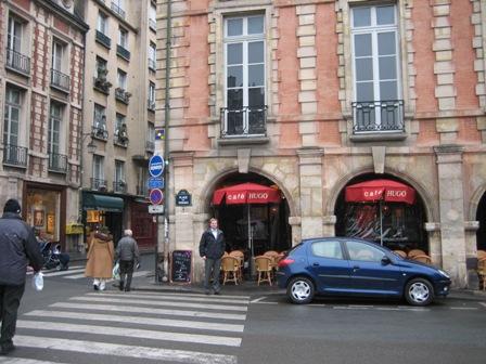 Cafe Hugo- Place d. Voges